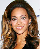 Beyonce's Long Curly Hairstyle