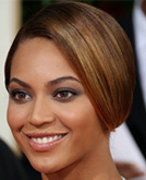 Beyonce at Golden Globes 2009