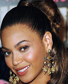 Beyonce's Easy Hairstyle