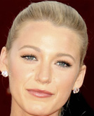 Blake Lively's High Ponytail with Braid Hairstyle at Emmy Awards 2009