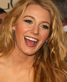 Blake Lively Hang Loose Hairstyle at Golden Globes 2009