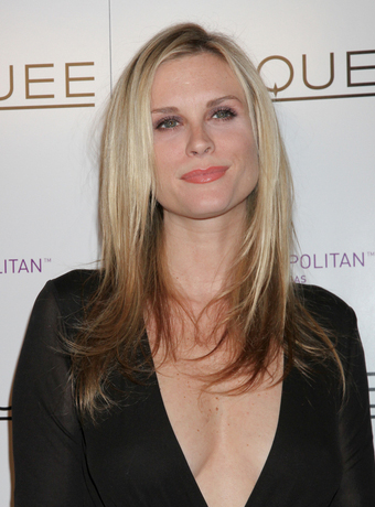 Bonnie Somerville's Blonde Highlighted Long Hairstyle