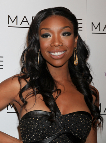 Brandy's Center-parted Long Waves