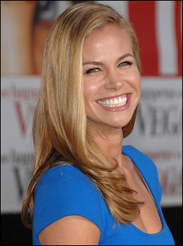 Brooke Burns Blond Hairstyle