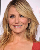 Cameron Diaz with Blond Medium Hairstyle