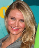 Cameron Diaz's Side-parted Sexy Wavy Hairstyle at 2009 Teen Choice Awards