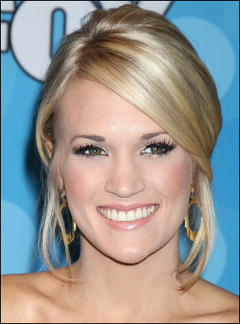 Carrie Underwood's Elegant Updo Hairstyle