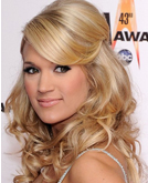 Carrie Underwood's Half Up Half Down Hairstyle