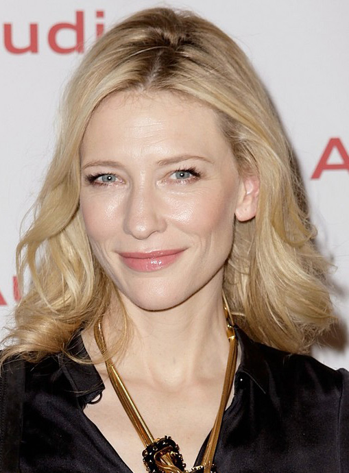 Cate Blanchett's Shoulder Length Hairstyle