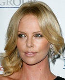 Charlize Theron with Medium Hairstyle
