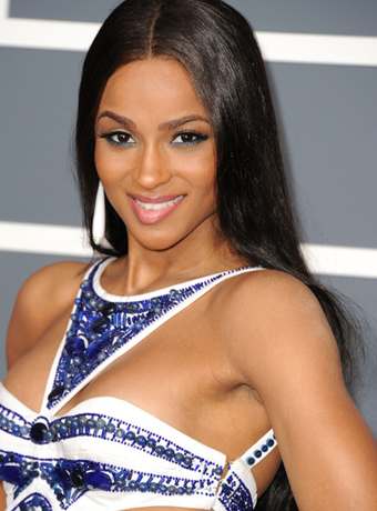 Ciara's Super Long Hairstyle with Curly Ends