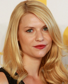 Claire Danes with Layered Curly Hairstyle