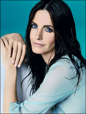 Courteney Cox Arquette Black Hairstyle