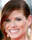 Debra Messing's Elegant Twist Hairstyle at Emmy Awards 2009
