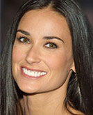 Demi Moore New Long Hairstyle