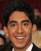 Dev Patel's Thick Hairstyle with Curls at Oscar 2009