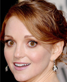 Jayma Mays's Pretty Sexy Updo Hairstyle at 2010 Golden Globe Awards