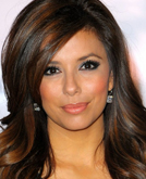 Eva Longoria's Long Layered Sexy Wave Hairstyle