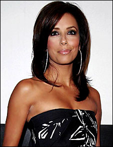 Eva Longoria Parker's Medium Hairstyle
