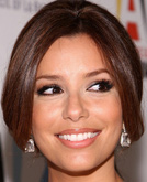 Eva Longoria Parker's Casual Low Ponytail Hairstyle
