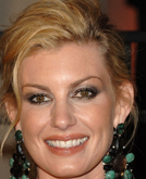 Faith Hill's Messy Chignon Hairstyle at 2010 Oscars After Party