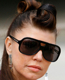 Fergie Twists Her Hair Into Top Knots for a Fun, Fuss-free Stage Look
