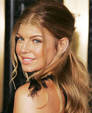 Fergie Curly Hairstyle
