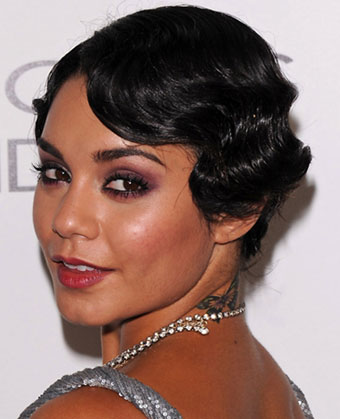Halle Berry Finger Waves