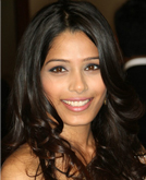 Freida Pinto Sexy Long Hairstyle with Curls