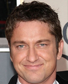 Gerard Butler's Curly Hairstyl at Golden Globes 2009