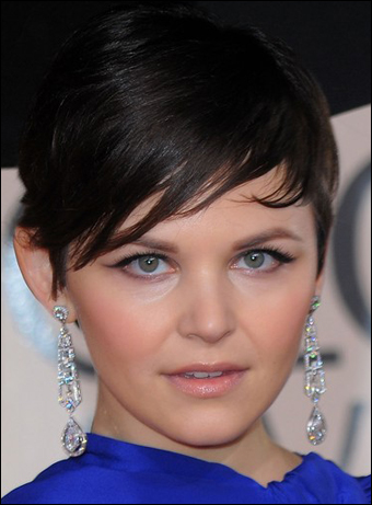 ginnifer goodwin haircut. Ginnifer Goodwin#39;s Cute Short