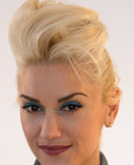 Gwen Stefani's High Updo Hairstyle
