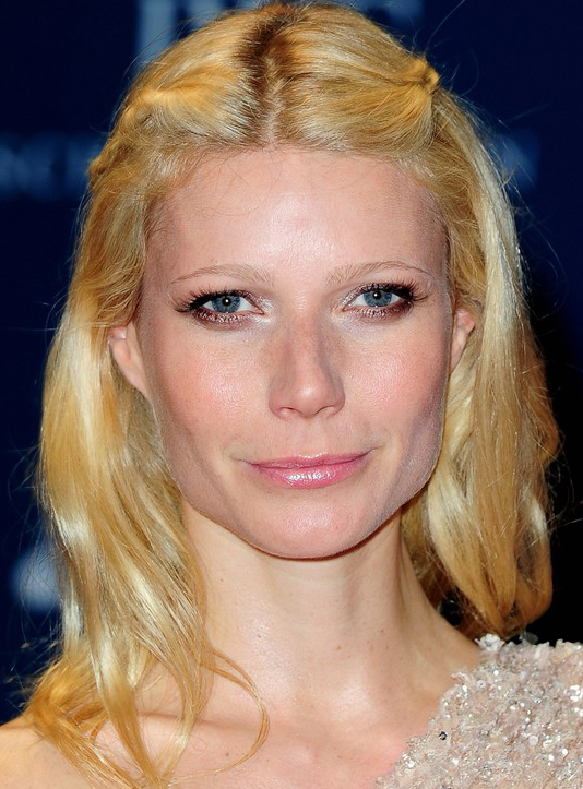Gwyneth Paltrow's Freach Twist Hairstyle