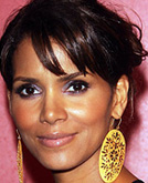 Halle Berry's Piece-y Bangs Hairstyle