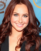 Hayden Panettiere's Medium-parted Lonw Wavy Hairstyle