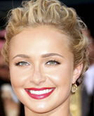 Hayden Panettiere's Elegant Chignon Hairstyle at Emmy Awards 2009