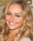 Hayden Panettiere Shoulder Length Curly Hairstyle at 2009 MTV Movie Awards
