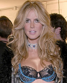 Heidi Klum's Perfect Wave Long Hairstyle