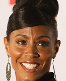 Jada Pinkett's High Updo Hairstyle