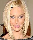 Jenna Jameson Sexy Concave Bob Hairstyle