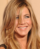 Jennifer Aniston's Long Casual Hairstyle at 2010 Golden Globe Awards