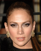 Jennifer Lopez's Super Sleek Ponytail Hairstyle