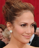 Jennifer Lopez's High Updo Hairstyle