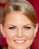Jennifer Morrison's Elegant Low Bun Hairstyle at Emmy Awards 2009