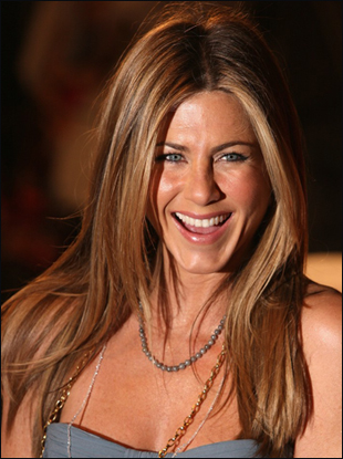 Jennifer Aniston with Long Straight Hairstyle