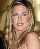 Jennifer Aniston Long Hairstyle with Braid at Oscars 2009