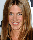 Jennifer Aniston's Long Wavy Hairstyle and Sleek Straight