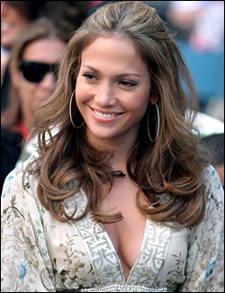 Jennifer Lopez's Long Hairstyle