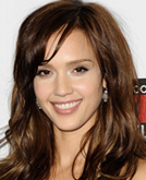 Jessica Alba's Soft Waves Hairstyle