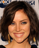 Jessica Stroup's Wavy Look